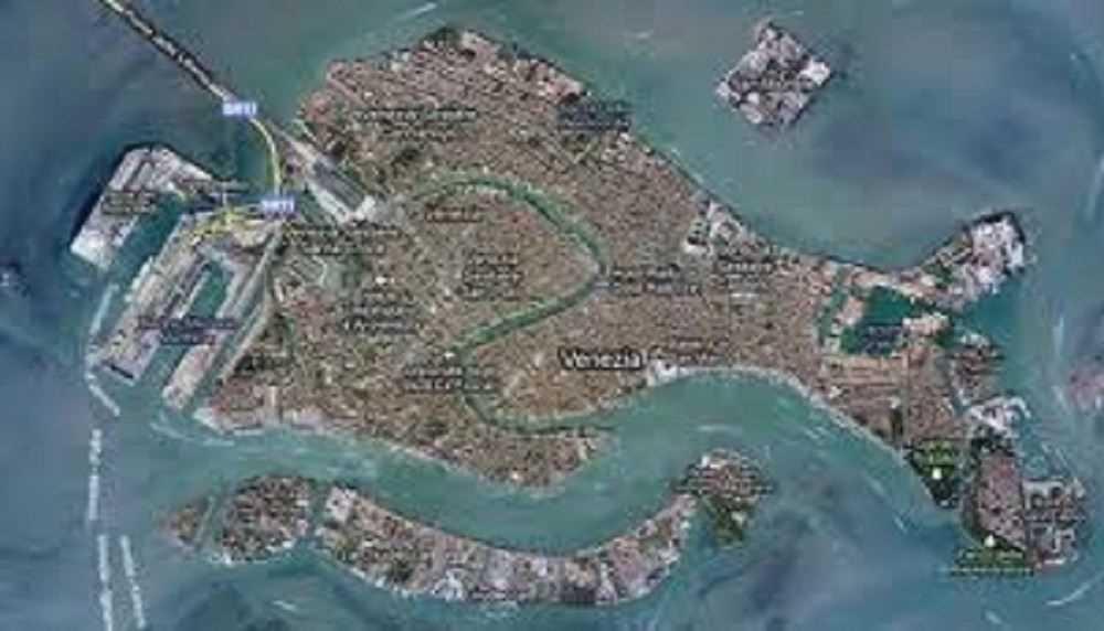 giudecca island venice map - photo#49